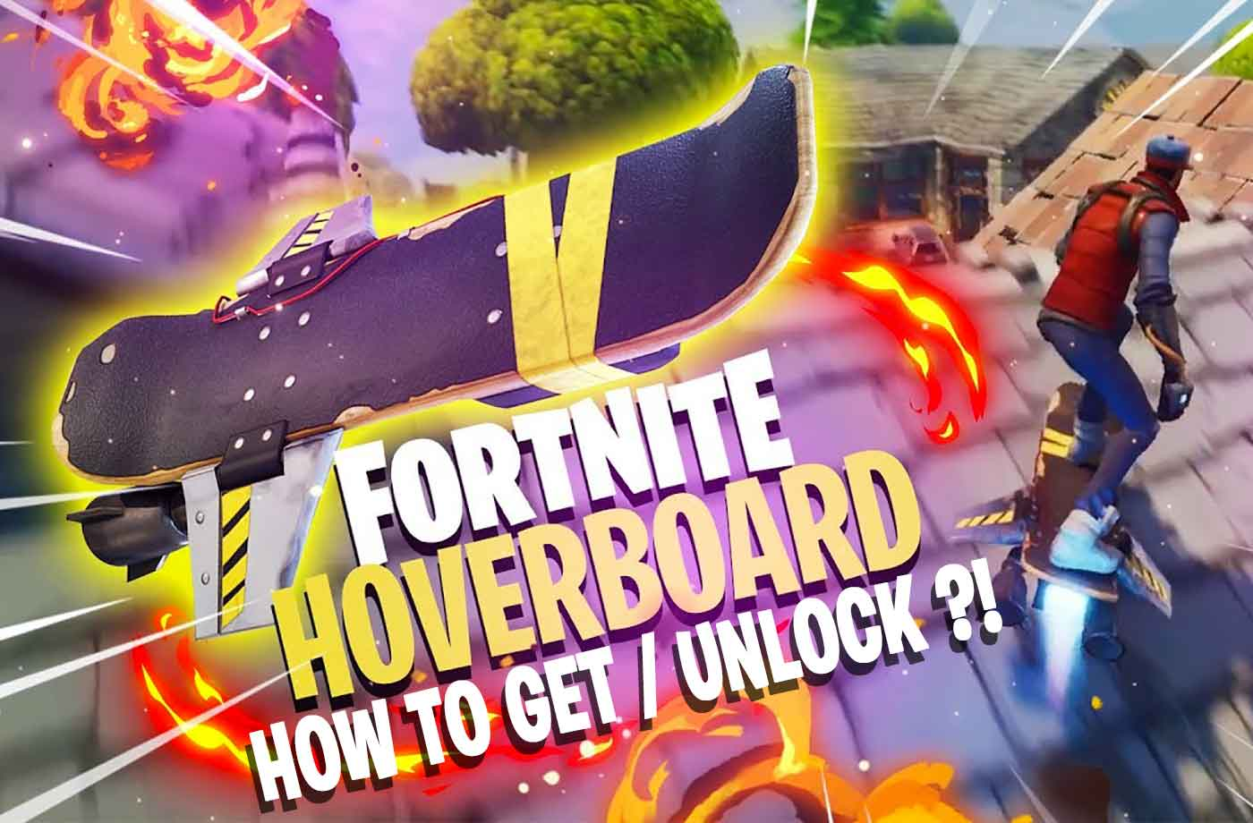Guide Fortnite how to get / unlock the hoverboard | kill-the-game ...