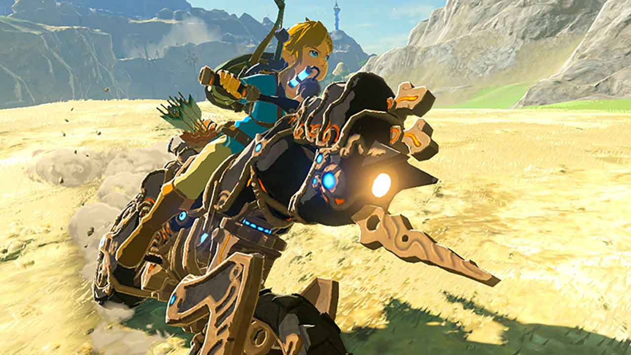 Zelda Breath Of The Wild Master Cycle: Guide Zelda Breath Of The Wild How To Get The Link