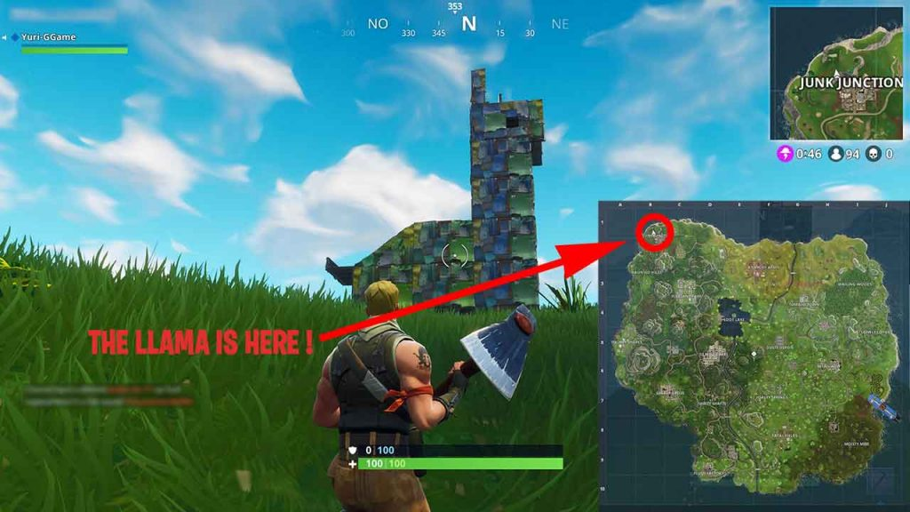 find-the-llama-fortnite-battle-royale