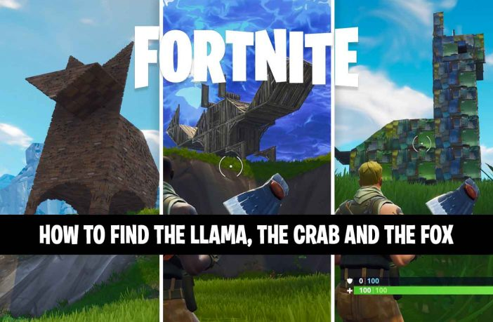 fortnite-guide-for-challenge-llama-fox-and-crab