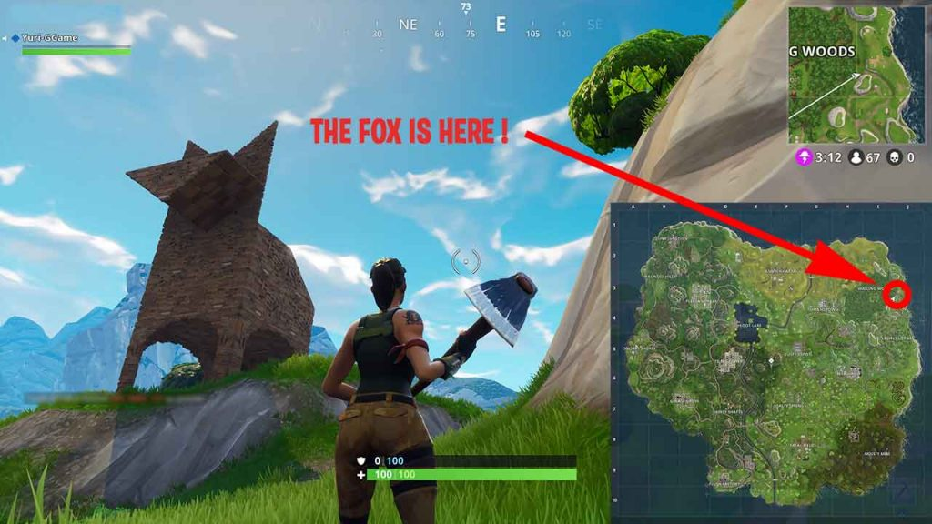 how-find-the-fox-fortnite-battle-royale
