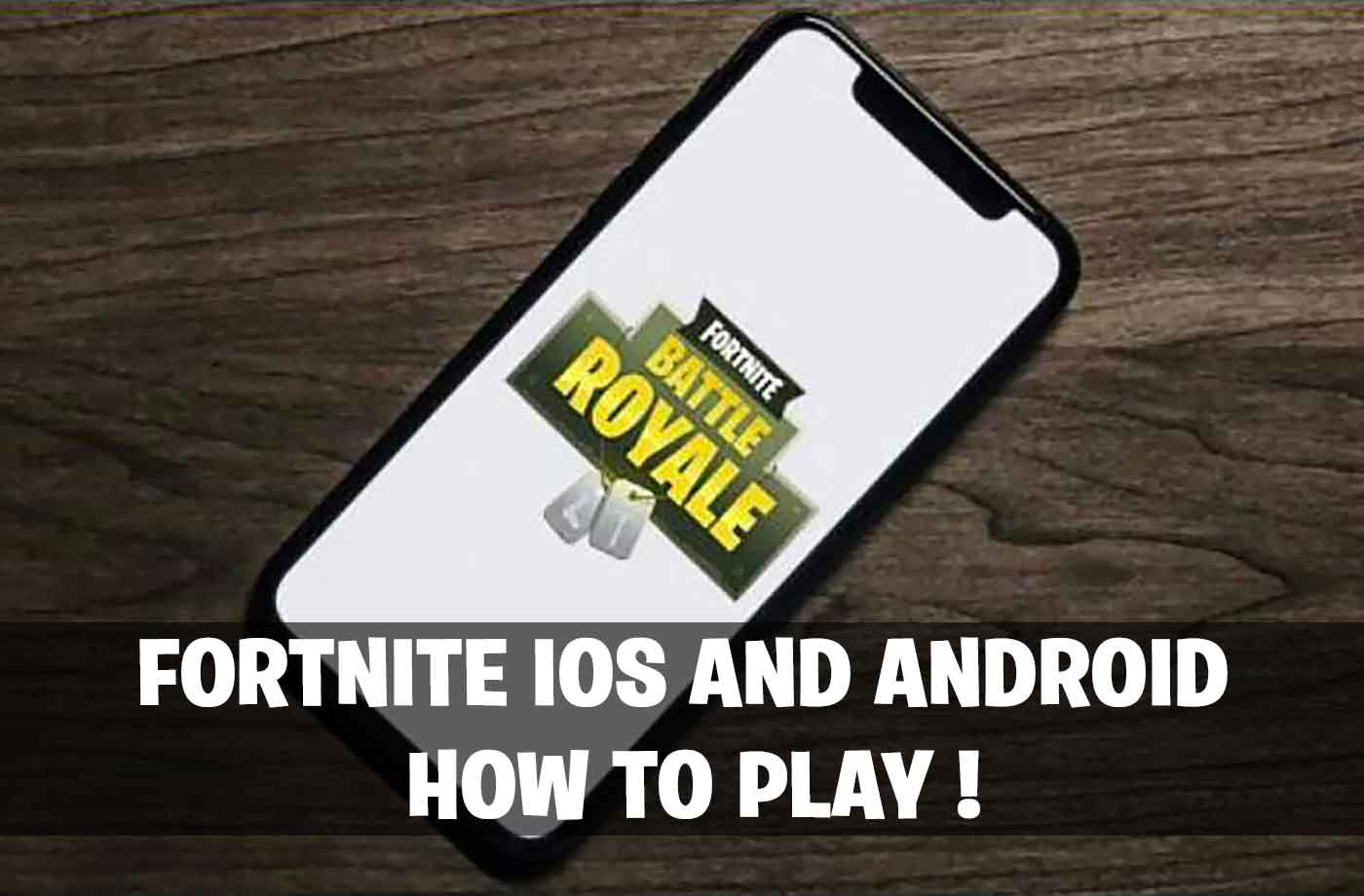 Fortnite Battle Royale How To Play On Iphone Ios And Android Apk