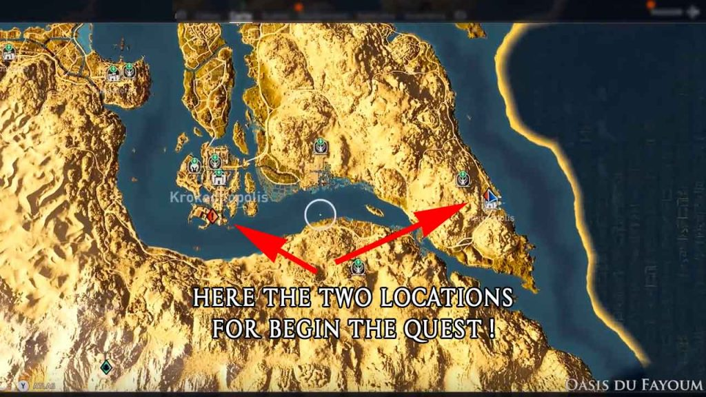 Assassin S Creed Origins Guide To The Quest For Lights Among The