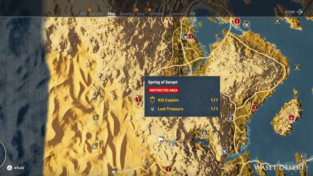 spring-of-serqet-waset-desert-assassins-creed-origins