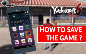 YAKUZA-6-The-Song-of-Life-manually-guide-save