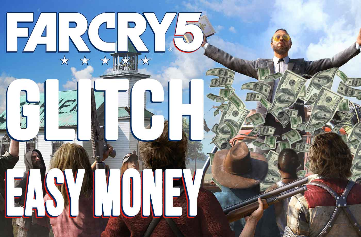 Glitch Far Cry 5 How to Easily Get Unlimited Money | kill