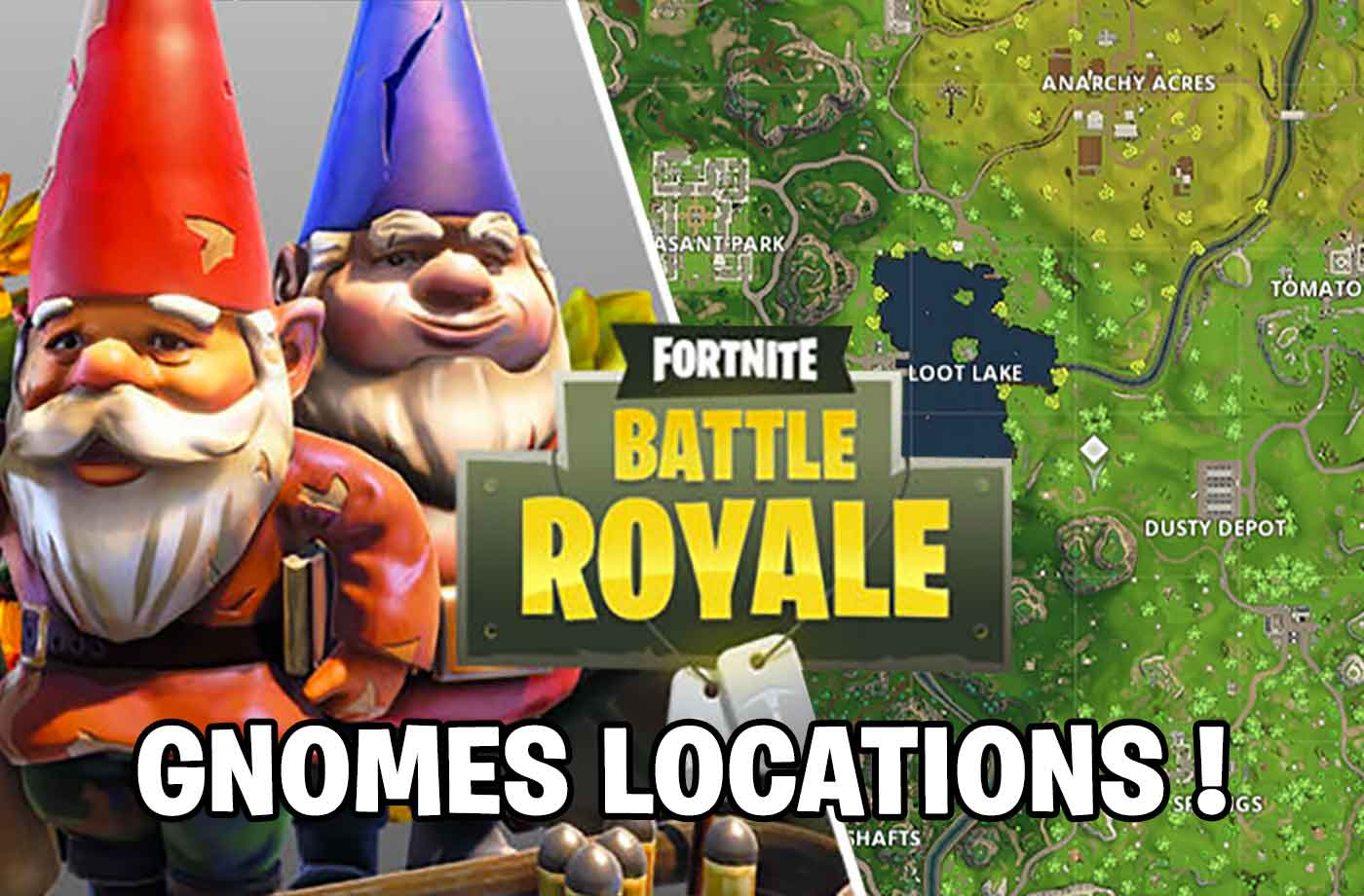 Fortnite Challenge Week 7 Where To Find Hidden Gnomes In