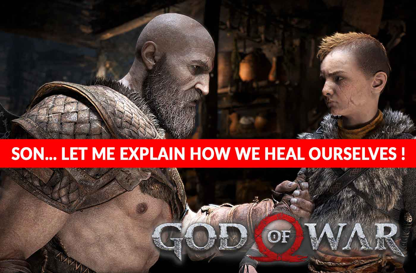 God Of War Ps4 How To Heal And Restore Kratos Health Kill