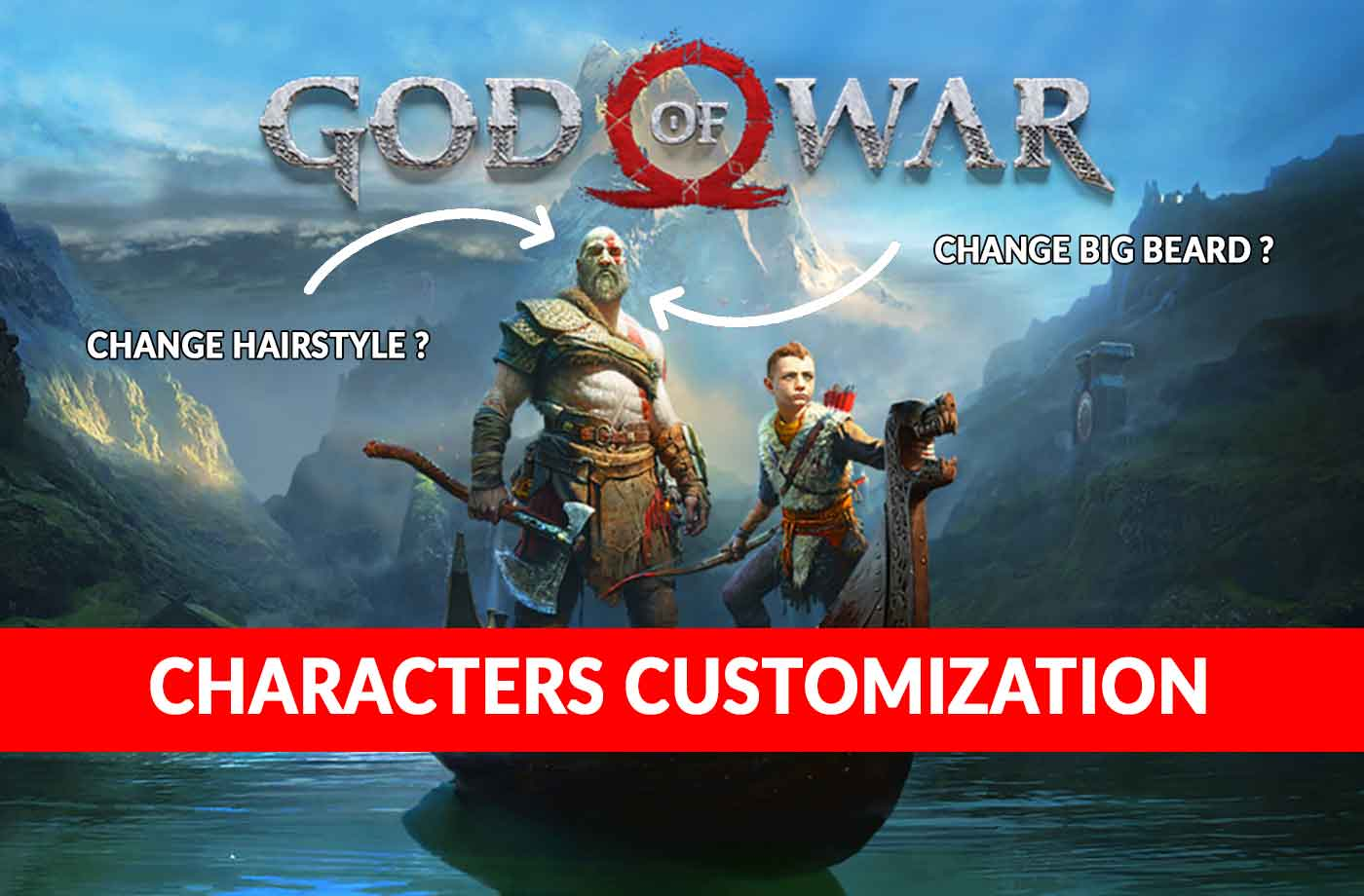 Wiki God of War PS4 : can Kratos' hair or beard be changed