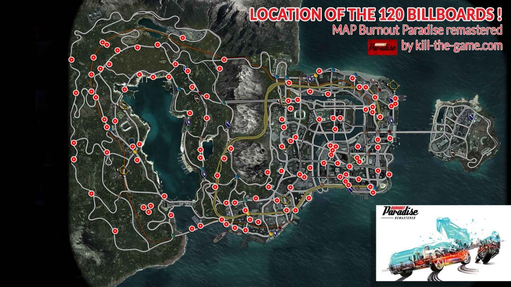 All Sanhok Map Locations And Tips: Guide Burnout Paradise Remastered All Billboards Locations