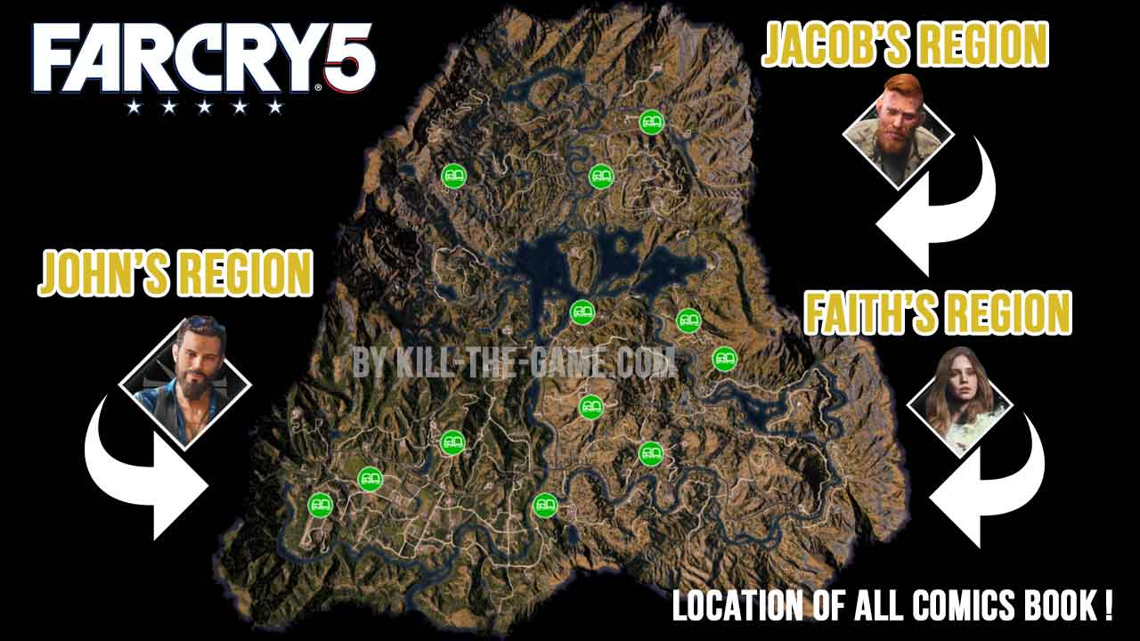 Guide Side Quest Golden Age Nostalgia Of Far Cry 5 Where Are