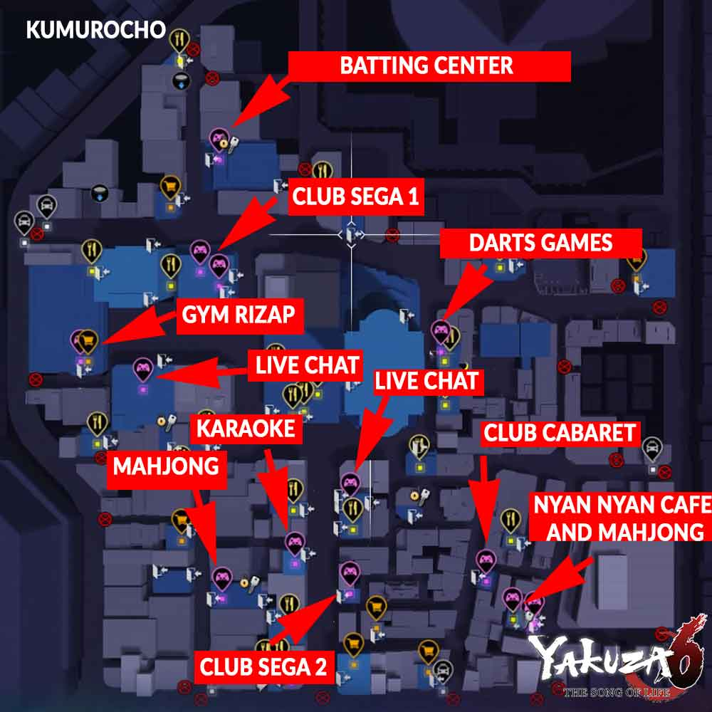 mini-games-map-kamurocho-yakuza-6