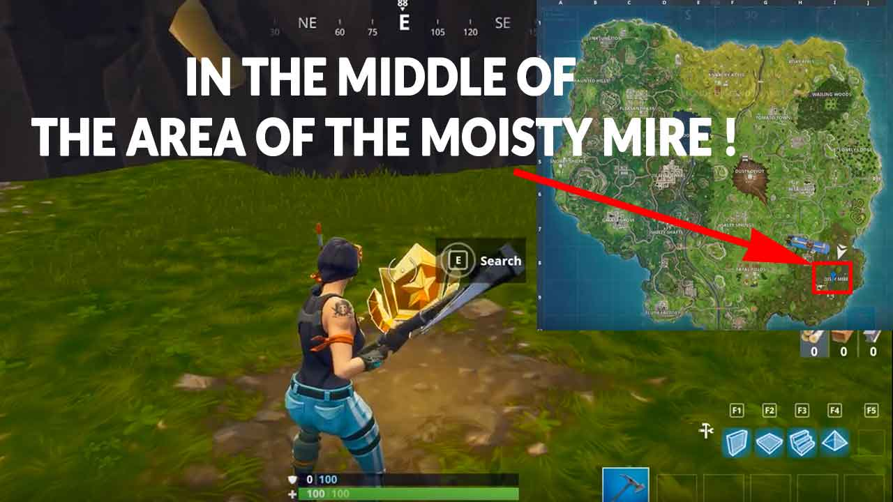 Fortnite Season 4 Guide For The Challenge Of Searching