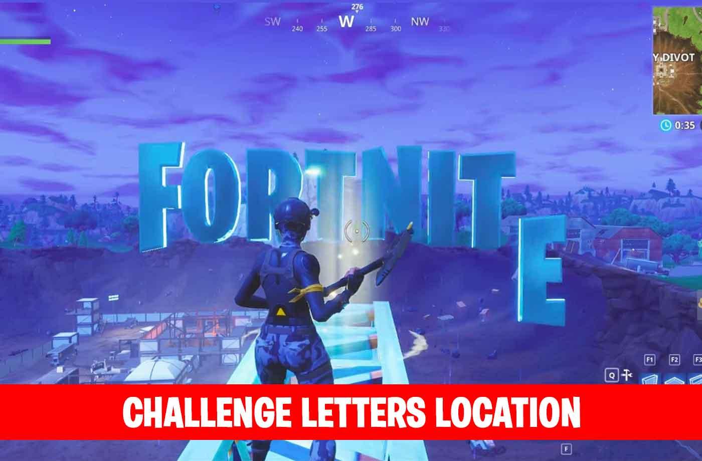 Fortnite Challenge Season 4 Letters Location F O R T N I T E Kill - fortnite challenge season 4 letters location f o r t n i t e