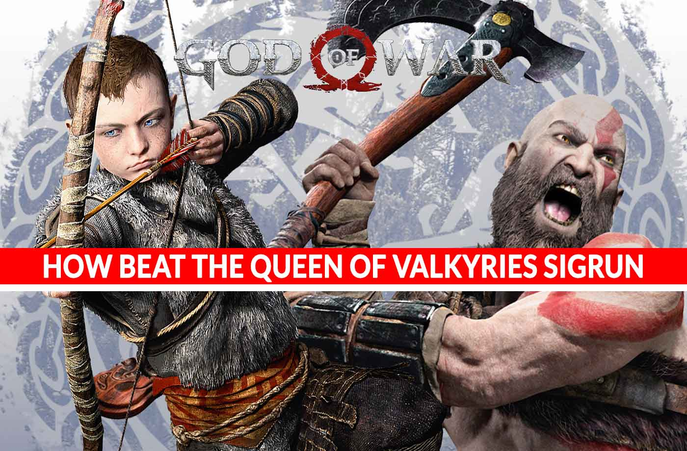 God of War how to successfully beat the Queen of Valkyries