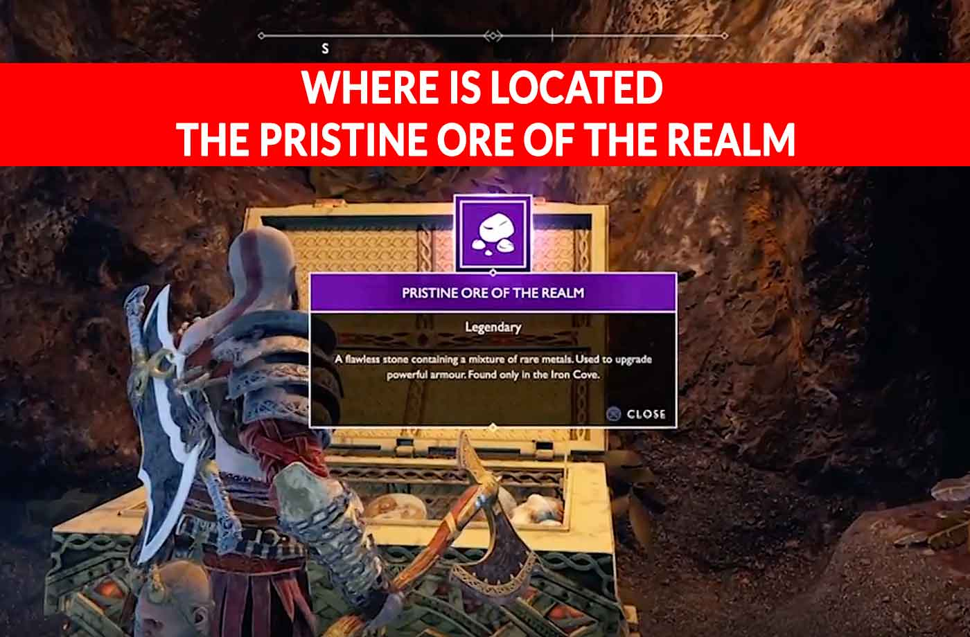God of War where is located the Pristine Ore of the Realm