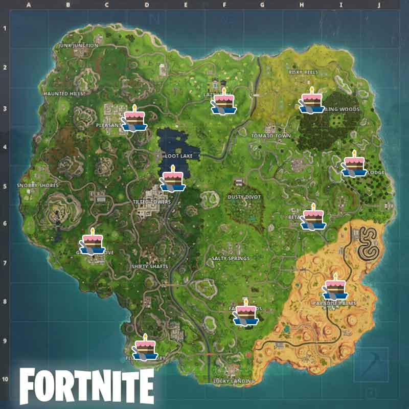 birthday-cakes-locations-map-fortnite