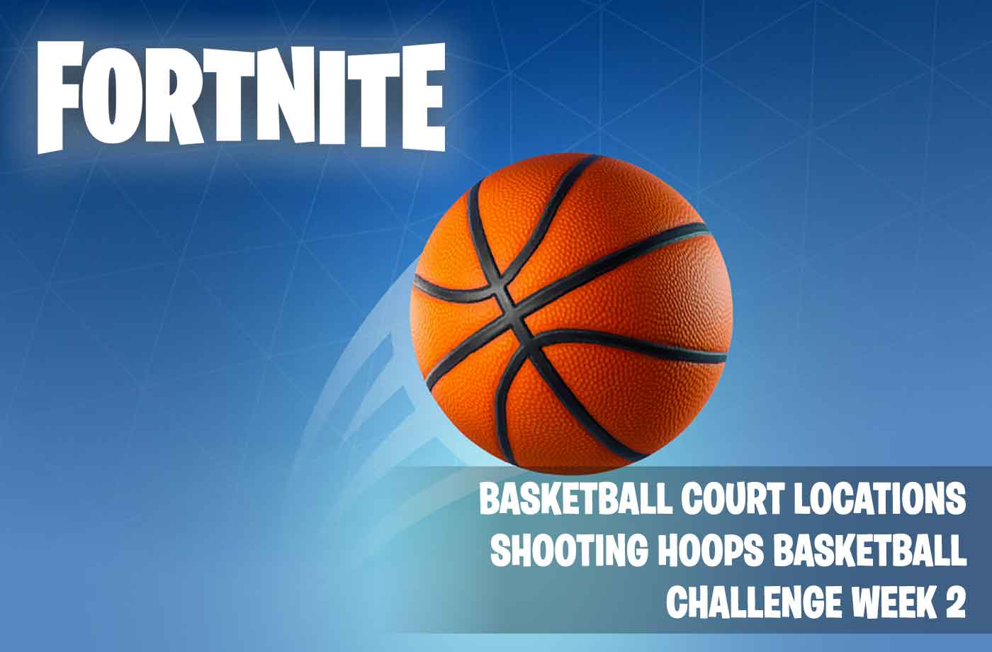fortnite basketball court locations shooting hoops basketball challenge week 2 - hoops fortnite