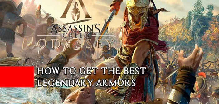 Assassin's Creed Odyssey guide to get the best armors in the game (legendary sets)