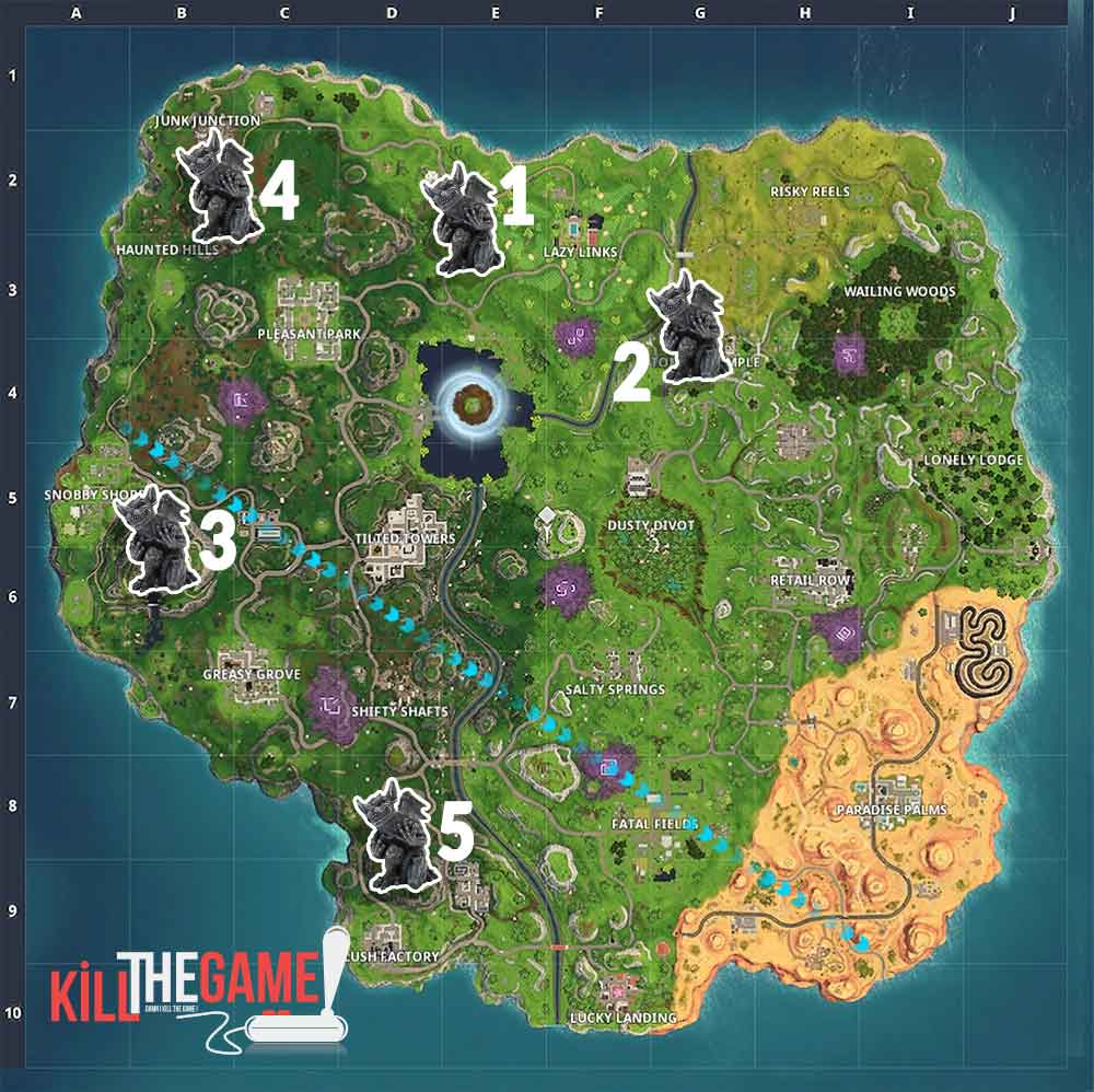 map-location-gargoyles-challenge-fortnitemares