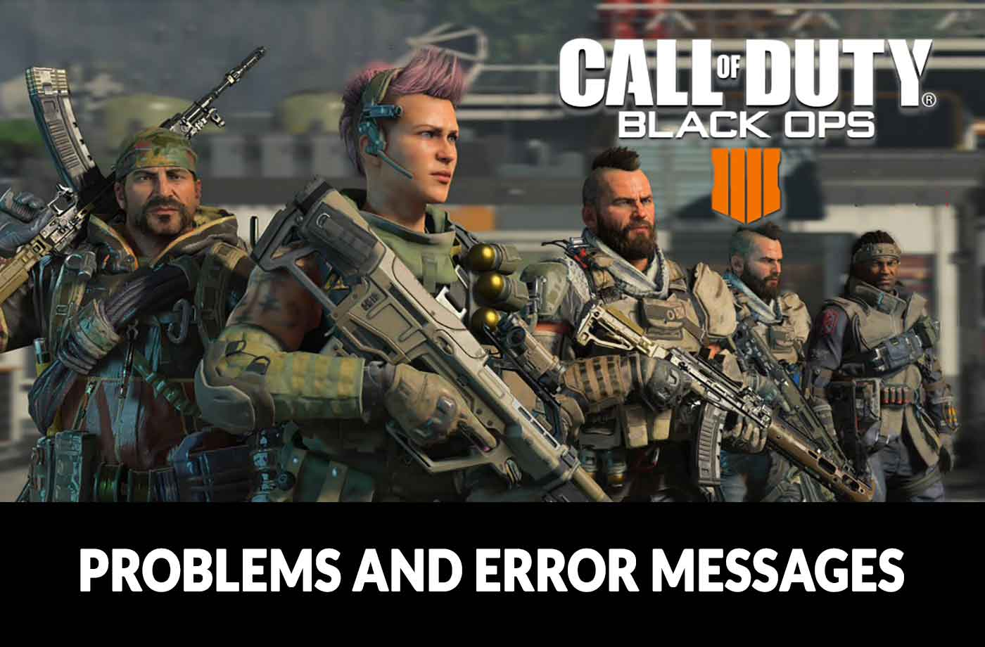 Call of Duty Black Ops 4 multiplayer / theater mode logout