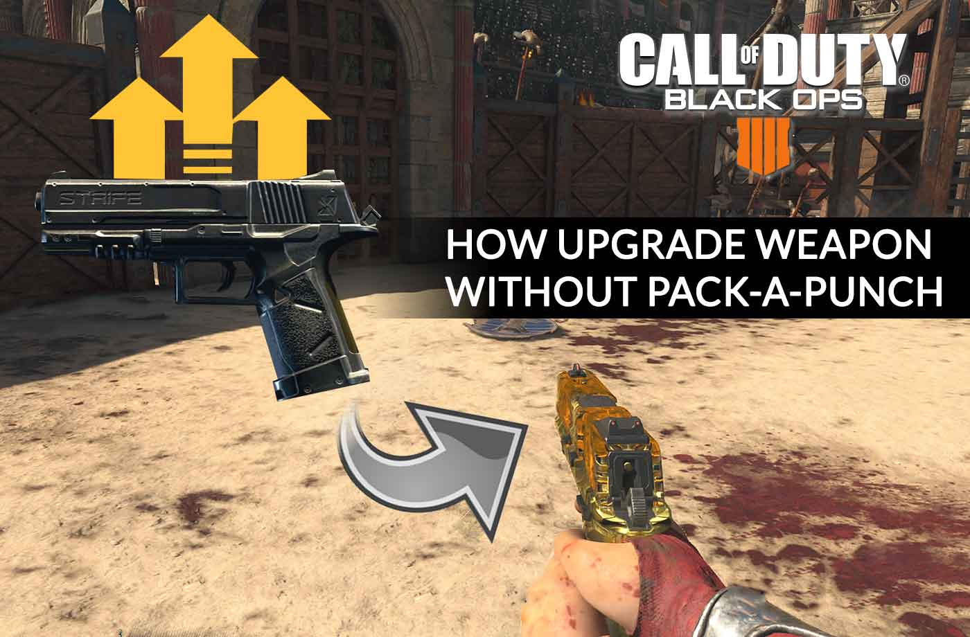 Tip Call of Duty Black Ops 4 how upgrade weapon without pack-a-punch Call Of Duty Zombies Map Packs on