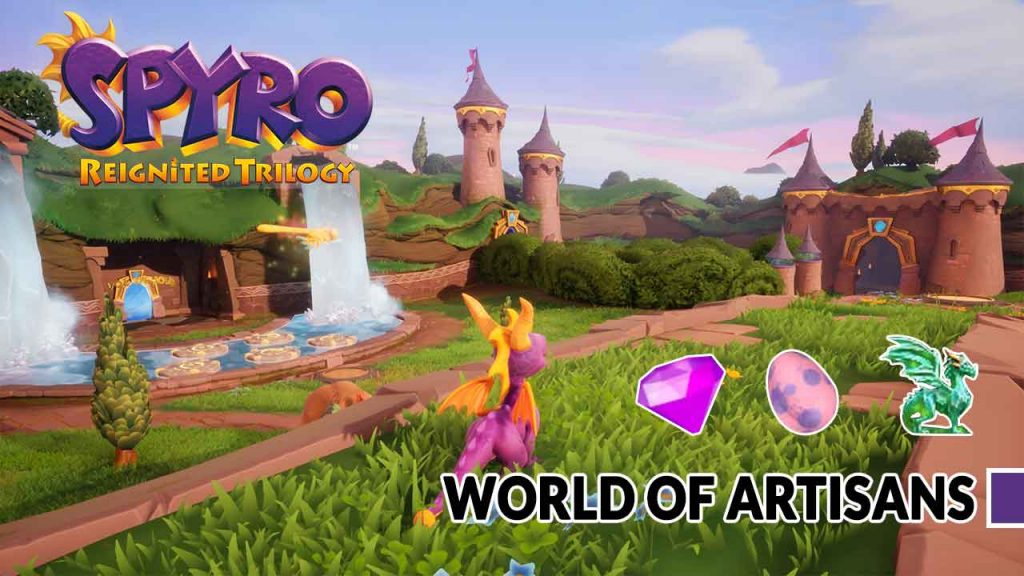 Spyro-Reignited-Trilogy-artisans-world-complete-guide