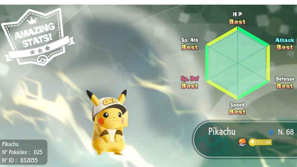 best-iv-stats-pikachu-pokemon-lets-go