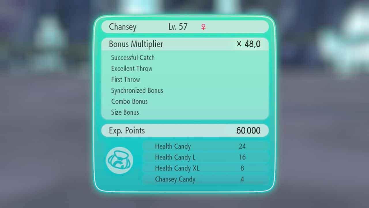 pokemon lets go best multiplier bonus experiences points