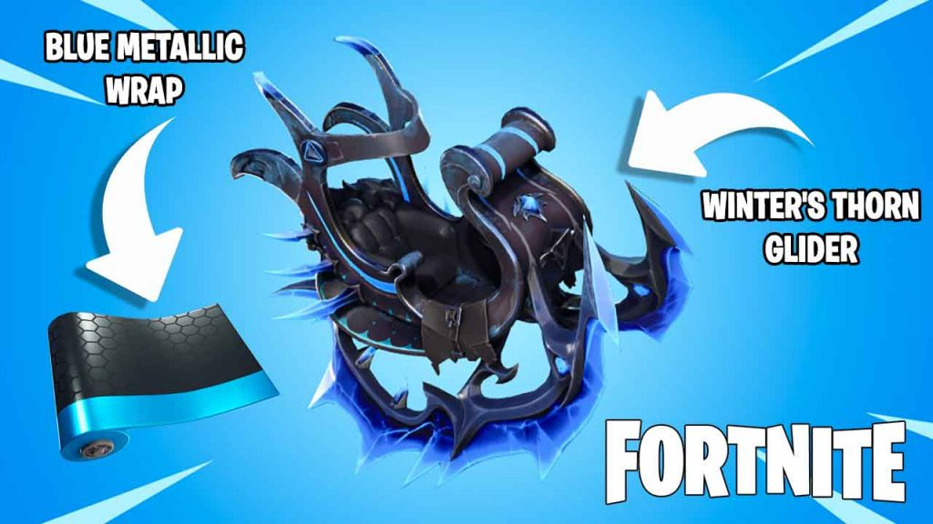 fortnite-blue-metallic-wrap-and-winters-thorn-glider