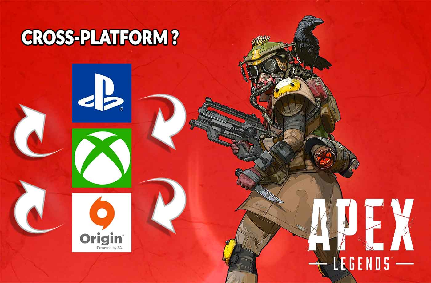 Cross-play on Apex Legends how to play between PC, PS4 and