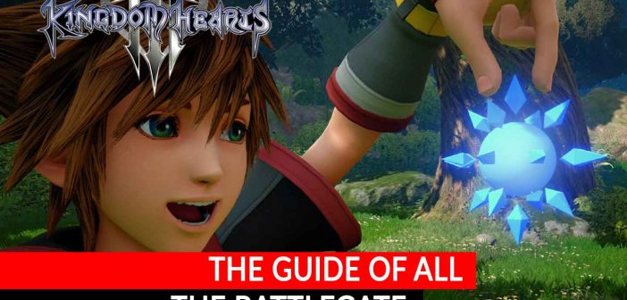 Guide Kingdom Hearts 3 list and locations of all Battlegate with Secret Reports
