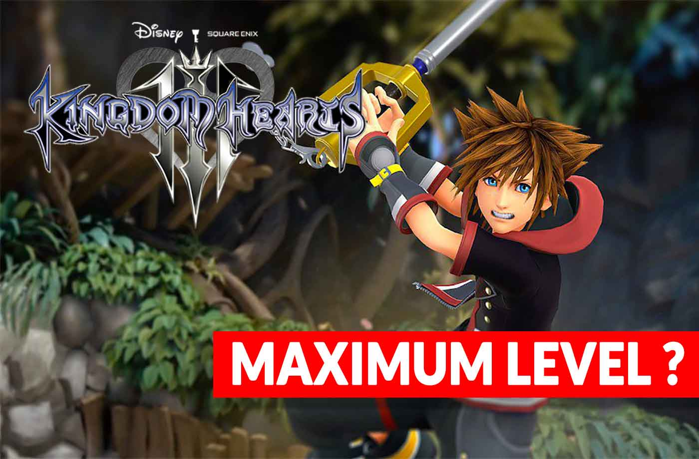Wiki Kingdom Hearts 3 what is the maximum level of the characters