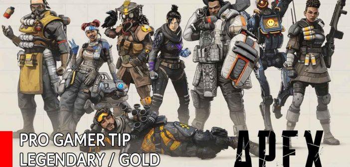 Apex Legends a pro gamer tip for legendary / gold equipment (additional bonus effects)