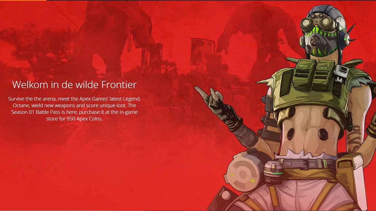 Apex Legends the price of the battle pass and the Octane