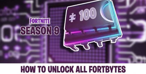 Guide Fortnite season 9 how to unlock all Fortbytes
