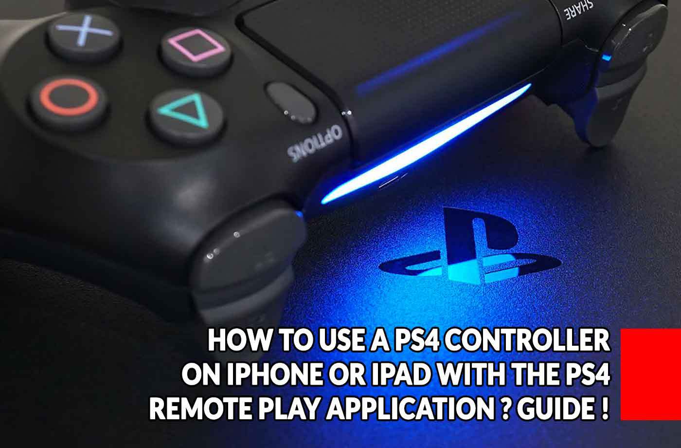 bc677ec3b How to use a Dualshock 4 controller on iOS (iPhone or iPad) with the PS4  Remote Play application