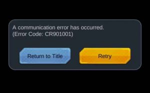 communication-error-CR901001-db-legends