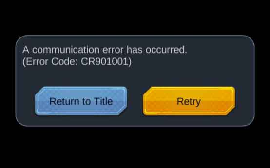communication-error-CR901001-db-legends