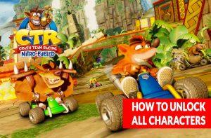 crash-team-racing-nitro-fueled-unlock-characters