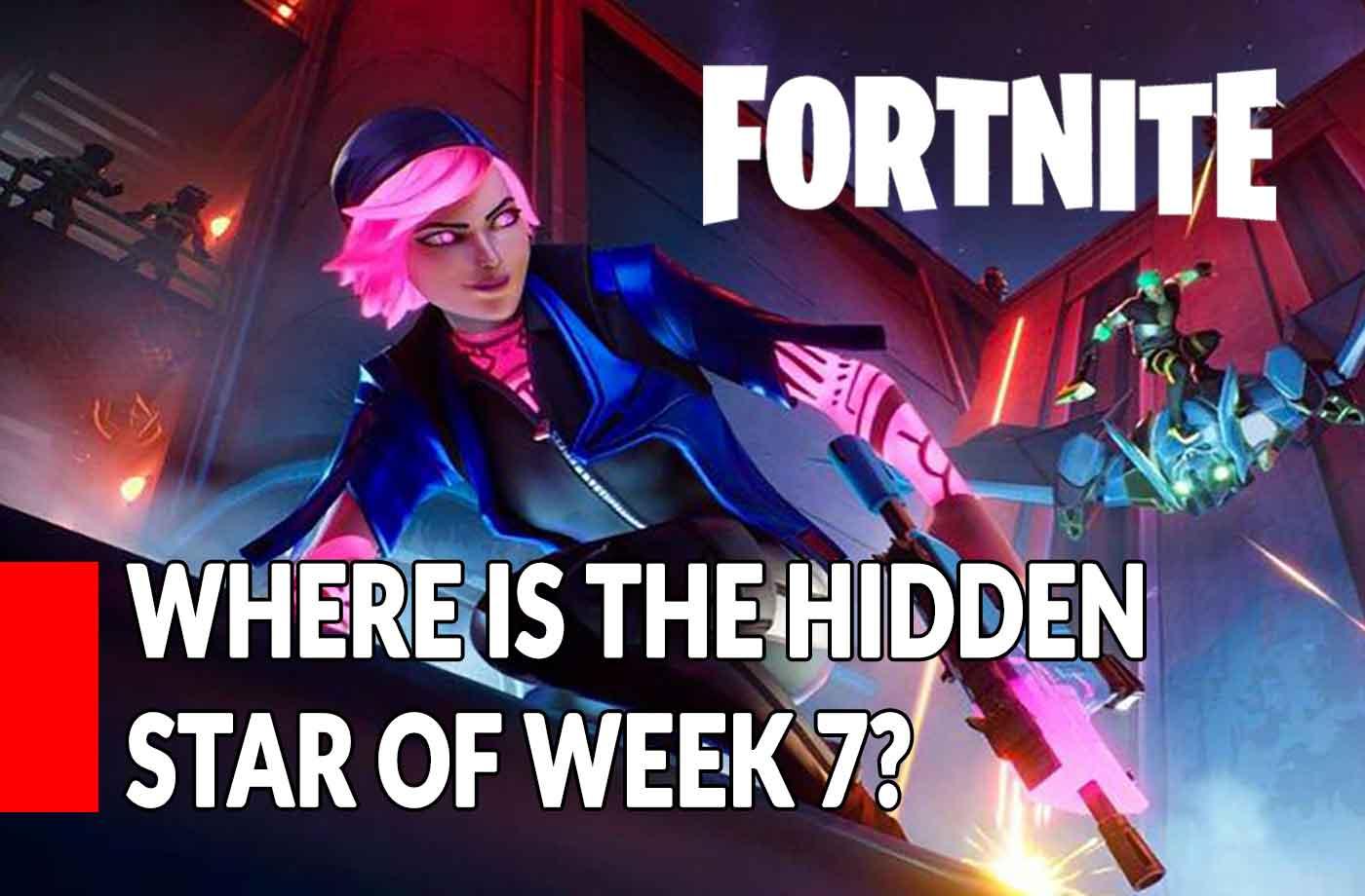 Guide Fortnite Where Is The Hidden Star Of Week 7 Season 9