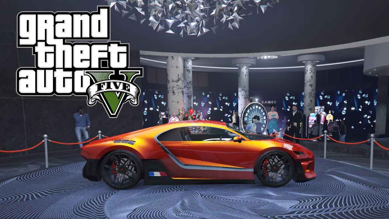 GTA 5 Online Spin The Lucky Wheel Of The Diamond Casino