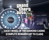 GTA 5 Online spin the Lucky Wheel of The Diamond Casino & Resort (complete rewards list to claim)