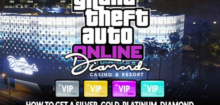 GTA5 Online how to get a silver, gold, platinum, diamond and VIP membership card at the casino