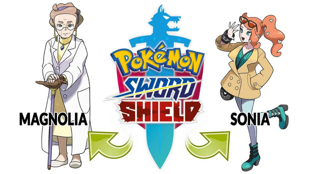 pokemon-sword-and-shield-magnolia-and-sonia