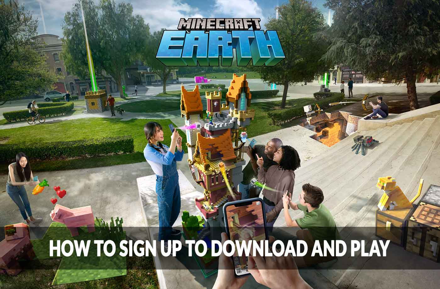 Minecraft Earth How To Sign Up To Download And Play The Game | kill