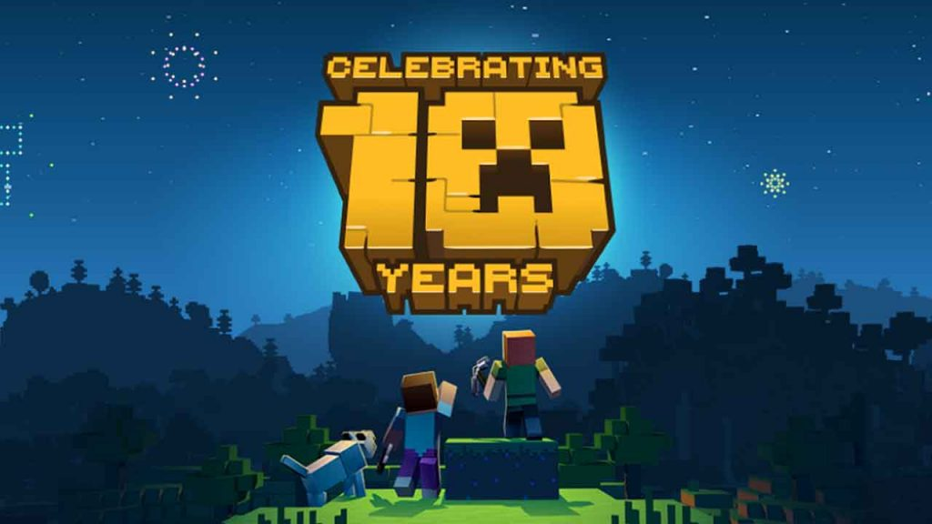 ten-years-of-minecraft-new-minecraft-earth-celebrating