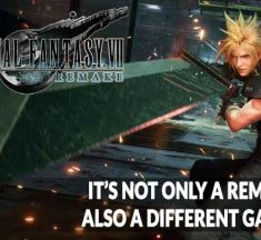 Final Fantasy 7 Remake not only a modern vision, a different game from the original