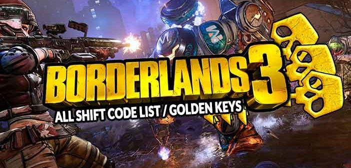 Guide Borderlands 3 Shift Code List (how to get golden keys)