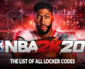 Guide NBA2K20 the list of all locker codes